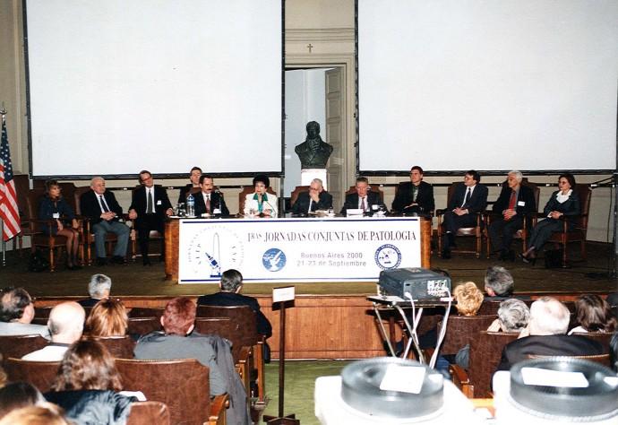 1ª Jornadas conjuntas de patología 2000
