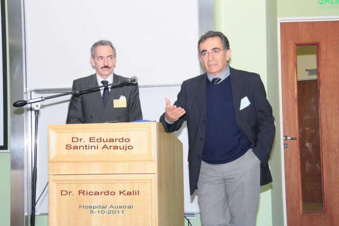 Dr. Eduardo Santini Araujo (Derecha) / Dr. Ricardo Kalil (Izquierda)